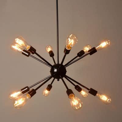 edison bulb chandelier industrial edison bulb chandelier in vintage loft style in