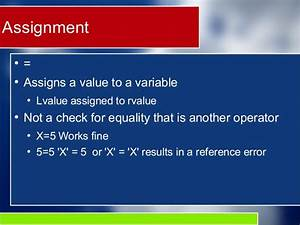 non-lvalue in assignment