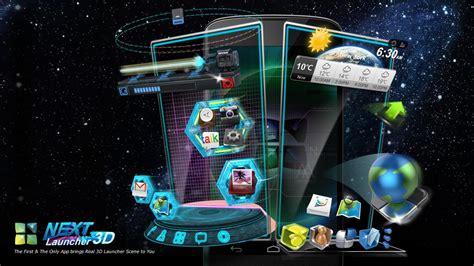 3d launcher for android next launcher 3d gratis apk android oduber city