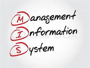 Mis Management Information System  Acronym Business Concept