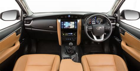 toyota fortuner interior revealed