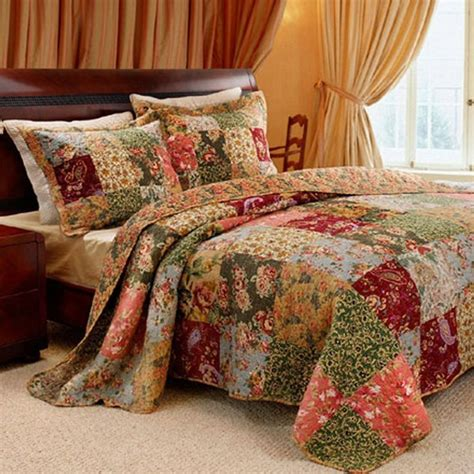 quilted tree skirt shop greenland home fashions antique chic bed sets the