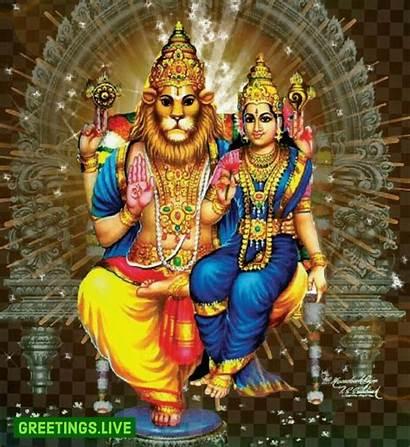 Narasimha Lakshmi Swamy Sri Animated Greetings