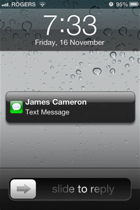 iphone  ipad remove text message preview  lock screen