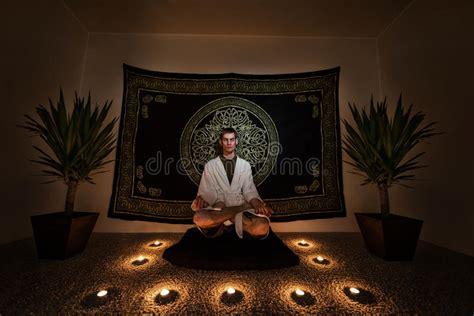 meditation ritual stock image image  cult meditation