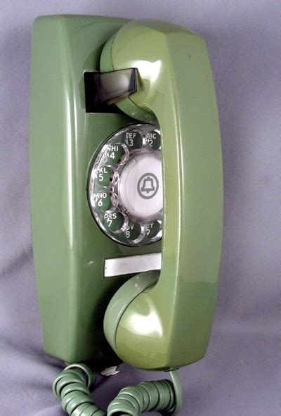 oldphoneworks antique phones colour green