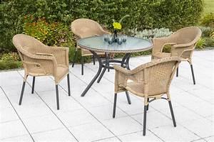 Gartenmöbel Set 5 Teilig Aluminium : merxx gartenm bel set 1 ravenna 5 teilig tisch 100 x 74 cm aluminium kunststoffgeflecht ~ Bigdaddyawards.com Haus und Dekorationen