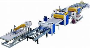 Automatic surface laminate production line China (Mainland