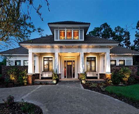 Prairie Styled Craftsman Custom Home with 3 108 Square