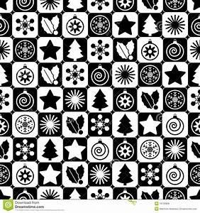 Noel Noir Et Blanc : no l noir et blanc sans joint images libres de droits image 16155869 ~ Melissatoandfro.com Idées de Décoration