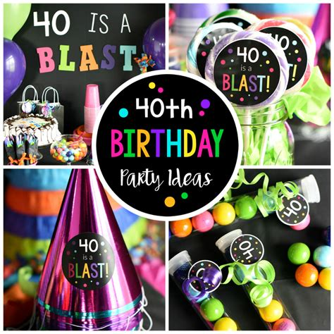 There are so many different fun bar and station ideas. 40th Birthday Party-Throw a 40 Is a Blast Party!
