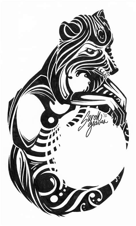 43+ Tribal Moon Tattoos