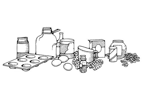 coloring page cooking  printable coloring pages img