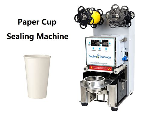 paper cup sealer machine bubbleteaology