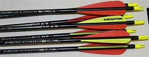 Easton Xx75 Gamegetter 400 Spine Arrows With Vanes And