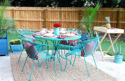 metal garden furniture touch up paint impressive metal
