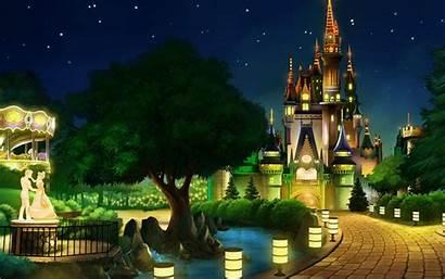 Castle Disney Backgrounds Desktop Wallpapers Pc Background
