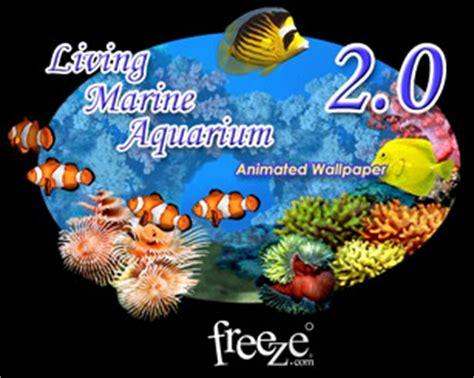 Living Marine Aquarium 2 Animated Wallpaper - living marine aquarium animated wallpaper free wallpaper
