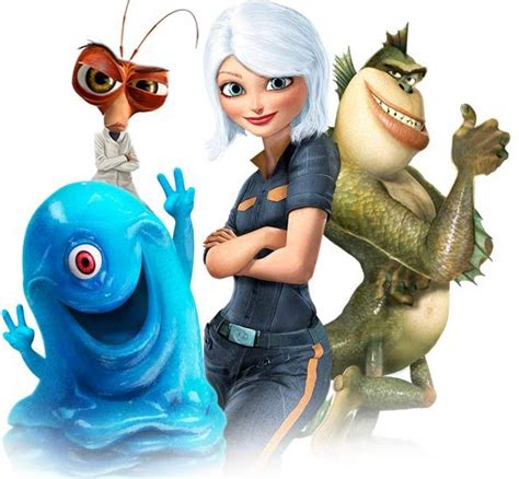 Monsters Vs Aliens  Film Review  Expedient Means