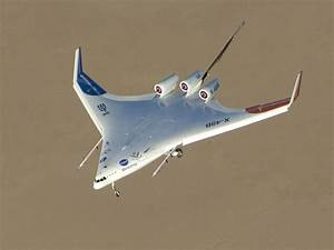 Rogers Dry Lake Provides Backdrop for X-48B Flight | NASA