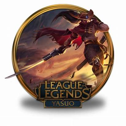 Icon Yasuo Legends League Icons Border Noon