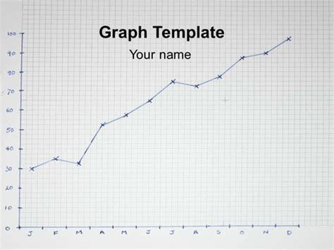 graph powerpoint template