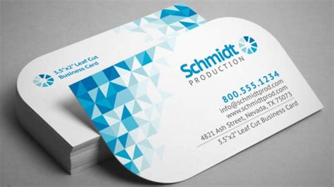 business cards single sided  corners express