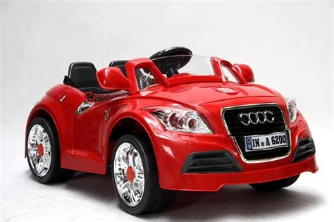 electric powered sports cars review of 6v audi style ride on battery powered sports car