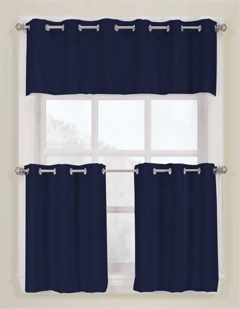 montego slide style grommet curtains navy lichtenberg