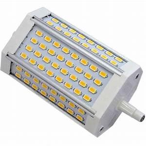 Ampoule Crayon Led : ampoule r7s format crayon 118mm 30 watts 64 led epistar ~ Nature-et-papiers.com Idées de Décoration