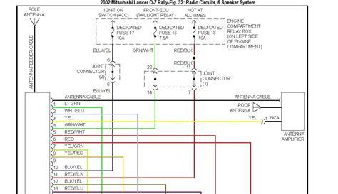 1993 mitsubishi lancer radio wiring diagram 2003 mitsubishi galant radio wiring harness 43 wiring