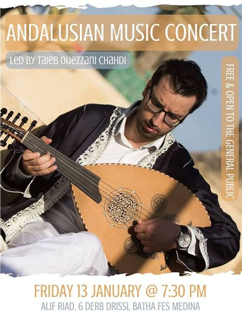 music andalusian fez ouazzani taieb leader january pm