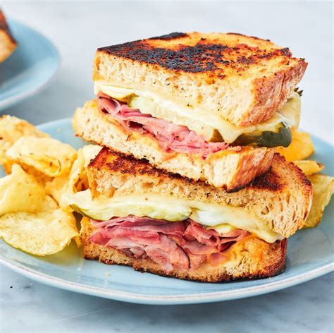 Here is how you cook that. Ham & Cheese Sandwich - The Best Video Recipes for All
