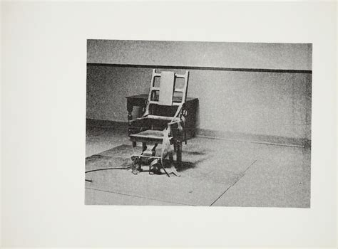electric chair unique by andy warhol guy hepner