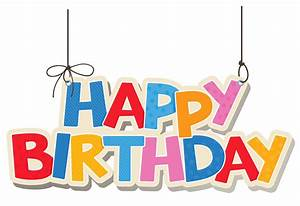 Happy Birthday Clipart Png - ClipartXtras