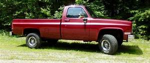1986 Gmc K1500  4x4  Manual Transmission  Solid Truck  For