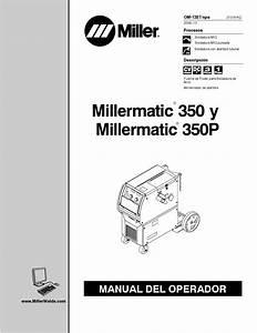Manual En Espa U00f1ol De Millermatic 350p By Casanova895