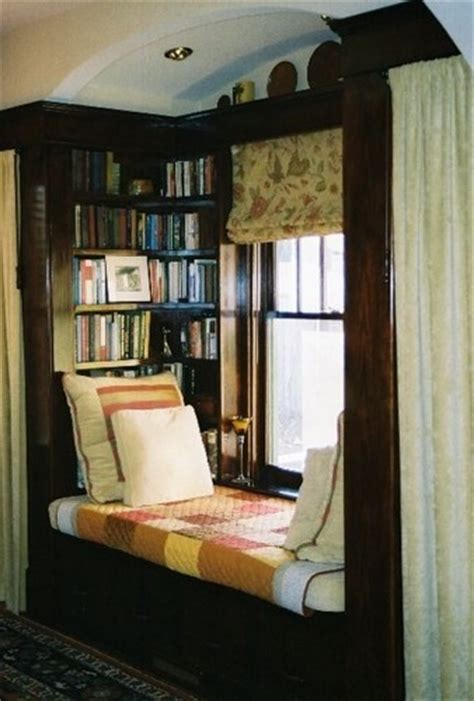 alcove library bed