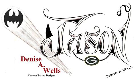 jason tattoo design  denise  wells   design
