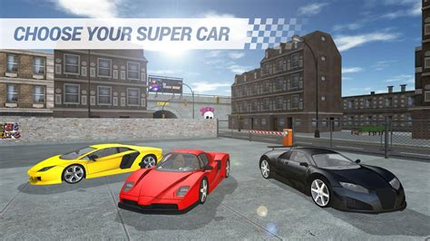 Race cars at high speeds and drift around tight corners in our complete collection of free online car games. SUPER CAR GAME for Android - APK Download