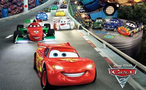 cars  hd wallpaper race track car cartoon lightning mcqueen