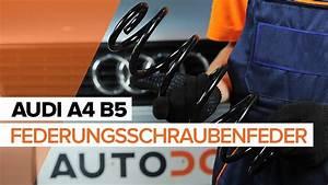 Audi A4 B5 Bremsleitung Vorne : wie audi a4 b5 fahrwerksfedern vorne wechseln tutorial ~ Jslefanu.com Haus und Dekorationen
