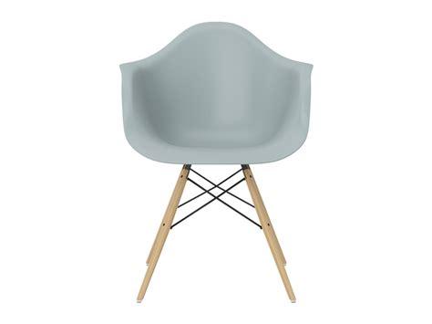 Buy The Vitra Daw Eames Plastic Armchair Golden Maple Base