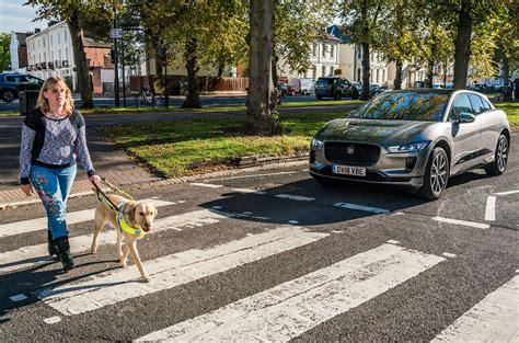 Jaguar Ipace Pedestrian Alert System Gets Charity