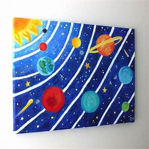 solar system art projects | Art for Kids SOLAR SYSTEM No3 ...