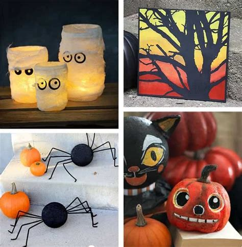 28 Homemade Halloween Decorations For Adults