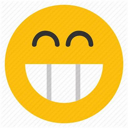 Smiley Grin Face Clipart Grinning Happy Icon
