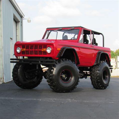 video of monster trucks 1977 ford bronco monster truck for sale