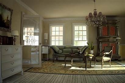 Living Antique Interior Designs Modern Country Inspiration