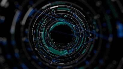 Interface Futuristic Technology Gifs Ui Display Cf